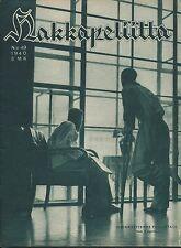 Finland Wartime Magazine Hakkapeliitta 1940 #49 - WWII