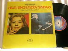 HELEN MERRILL & TEDDY WILSON Helen Sings Teddy Swings Larry Ridley LP