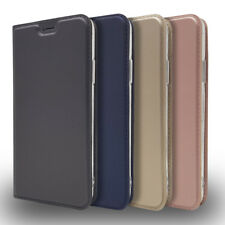 DT Classic Magnetic Flip Leather Card Wallet Stand Case Cover For Lot Phones Ⅱ