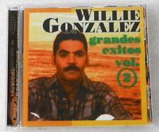 WILLIE GONZALEZ GRANDES EXITOS VOL.2 CD M.PRODUCTIONS  LATIN ROMANTIC SALSA RARE