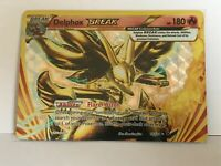 Delphox BREAK ULTRA RARE 14/124 Pokemon XY Fates Collide NM HOLO