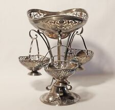 ART NOUVEAU Mappin & Webb silver-plated Hanging Dish silver plated