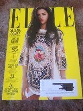 Selena Gomez - Elle Magazine - July 2012