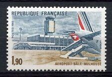 Francia 1982 Sg # 25.24 basel-mulhouse aeropuerto Mnh #a 54274
