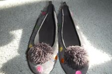 Gymboree Suede Flat Shoes From Size 5, 6 Youth Polk-a-dot Ballet Flat 5 Brown