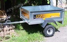 kleiner Kipp-Anhänger Daxara Erde 122 Kipper Anhänger verzinkt, für Quad ATV PKW