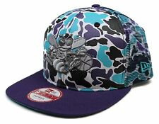 New Era® Nba® Face Charlotte Hornets Camo 9Fifty™ Mesh Snapback Hat Size M/L