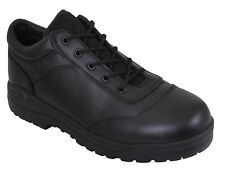 Tactical Utility Oxford Shoes Leather Shoe Black Rothco 5116