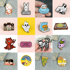 Pin Brooches Cute Ghost Baby Backpack Badges Hard enamel lapel Hat Bag Goth