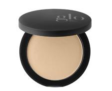 Glo belleza minerales Fundación Pressed Powder Skin 0.31 Oz/9 G-Dorado Oscuro
