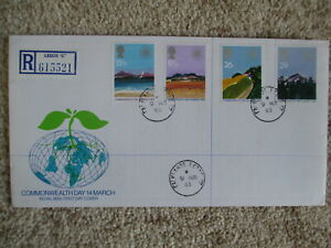 1983 COMMONWEALTH GPO FIRST DAY COVER, LISTED FALKLANDS CDS CANCELLATION FINE UN