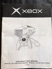 Original Microsoft XBOX Instruction Manual VERY GOOD CONDITION