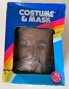 Rare 1983 Ben Cooper Mr. T Costume & Mask Set Vintage MIB UNUSED