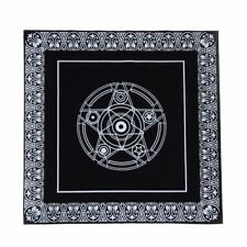Altar Tarot Cloth Divination Cards Square  49cm Black