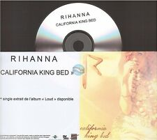 RIHANNA california king bed CD PROMO france french