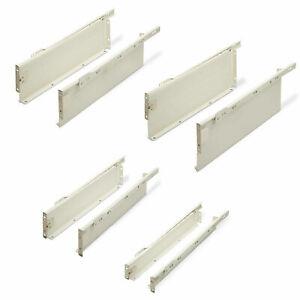 Komplettset Metallbox Schubladensystem weiß Schublade Schubkasten Schubkästen