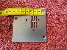 Stopfplatte Stichplatte Nähplatte Quasatron Intercombina Nähmaschine Zubehör