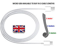 SONY XPERIA E5 - MICRO USB DATA TRANSFER CABLE LEAD / FAST UK WALL CHARGER