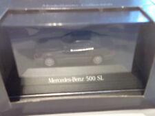 Herpa B 66005628 MB Benz 500 SL Modellauto Kollektion Mercedes Benz in Vitrine