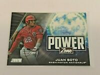 2020 Topps Stadium Club Baseball Power Zone - Juan Soto - Washington Nations