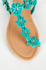 Standard (D) Floral Slim Sandals & Beach Shoes for Women