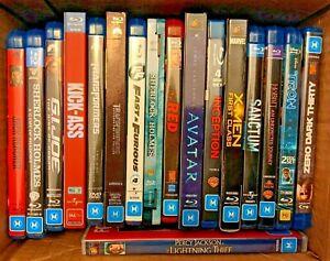 Various Blu-ray Discs (Individual Titles) - Region B Australia PG M MA