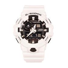 Casio G-Shock GA700-7A Black Dial White Magnetic Resistant Analog Digital Watch
