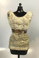 Barbie Doll sized Clothing: 1960s Mod Gold Mini Dress Intrigue Casey Clone