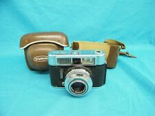 Vintage Voigtlander VITO CLR 35mm Film Camera w/Color Skopar 2.8/50 Lens & Case