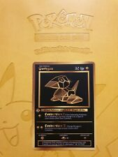 Pokemon Base 1st Porygon Gold LUXURY CARD custom card Christmas gift