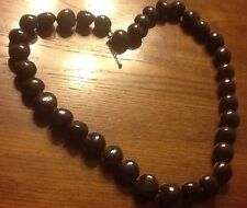 NEW GENUINE KUKUI Brown NECKLACE GIGI IN STYLE