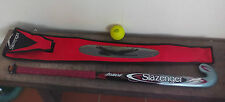 Palo de Hockey, Stick, Slazenger Demon Midi U, con Funda y bola.Stick+cover+ball