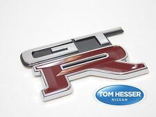"JDM Nissan Skyline R32 GT-R ""GTR"" Rear Trunk Boot Decklid Emblem Badge OEM New"