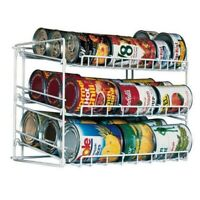 Can Rack Pantry Organizer Kitchen Cabinet Shelf Canned Food Soup Storage Holder