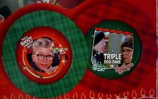 Nwt A Christmas Story Plate 2-pack Flick w/ tongue stuck & Ralphie Shoot eye out