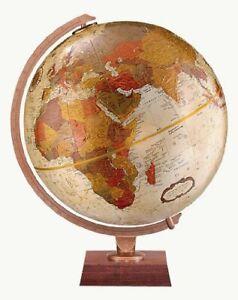 Replogle Northwoods Desktop Globe, Bronze Metallic