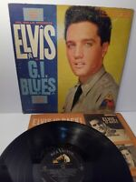 ELVIS PRESLEY IN G.I. BLUES LPM-2256 Vinyl LP-33 Soundtrack Album 1960 Mono