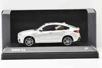 BMW X4 GLACIER SILVER METALLIC iScale 1/43 NEUVE EN BOITE PROMOTIONNELLE