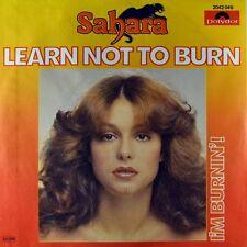 "7"" SAHARA Learn Not To Burn RICHARD SEDDIN 45rpm Disco POLYDOR 1979 NEUWERTIG!"