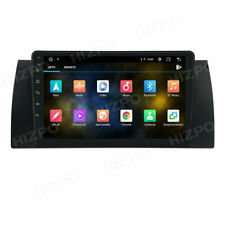 """9"""" Android 10 4GB+64GB GPS Stereo Radio DAB+ 8-Core WIFI 4G For BMW E39 M5"""