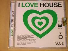 CD RARE / I LOVE HOUSE VOL 2 / NEUF SOUS CELLO