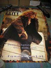 Bonnie Raitt-(down to basics-grit,slide,soul)-1 Poster-18X24-Nmint-Rare