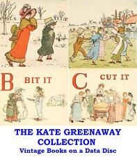 The Kate Greenaway Collection Vintage Illustrated Books on Data Disc - Nice Gift