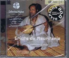 CD (NEW) GRIOTS DE MAURITANIE HODH OCCIDENTAL TRARZA PROPHET VOL 20