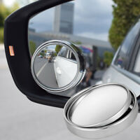 2x SUMMIT BLIND SPOT MIRROR ROUND ADHESIVE 2 INCH EASY FIT WIDE VIEW ANGLE VAN