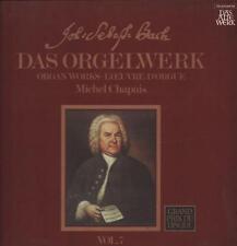 """Bach(2x12"""" Vinyl LP Box Set)Das Orgelwerk Vol.7-Telefunken-6 35082-Germ-Ex-/Ex"""