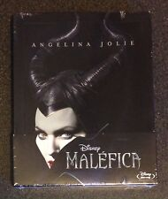 Disney MALEFICENT Blu-Ray SteelBook Spain MALÉFICA Region Free New OOP Very Rare