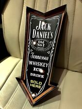 Rocket Jack Daniels Beer Bar Lamp Room Display BULB Neon Sign
