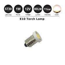E10 Style Screw LED Bulb Car DIY Light Lamp Warm White Torch Lighting DC12V 80lm