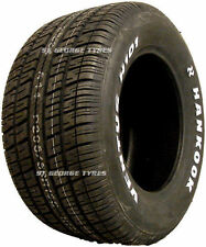 HANKOOK VENTUS H101 295-50-15 295/50R15 2955015 NEW TYRES HOT ROD WHITE WALL LET